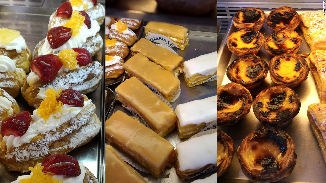 From candied fruit cream puffs to cream custard tarts, Versailles' pastries have won an army of loyal regulars.