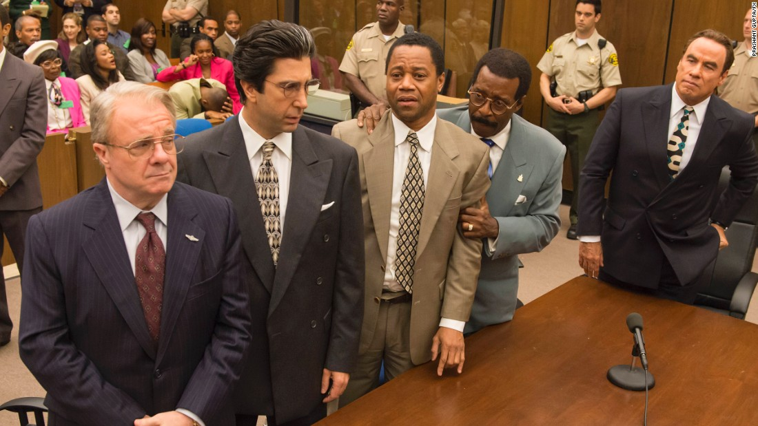 """The People v. O.J. Simpson: American Crime Story"" made FX happy at the Emmy nominations ceremony as it enjoyed 22 of them, including one for outstanding limited series. It's up against ""American Crime,"" ""Fargo,""<br />""The Night Manager"" and ""Roots."""