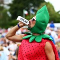 Chris Fava Wimbledon Strawberry Man