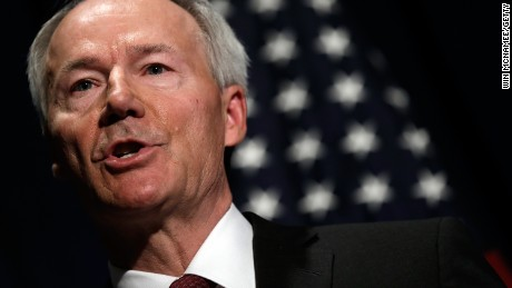 Arkansas Gov. Asa Hutchinson declared a state of emergency.