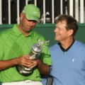 Stewart Cink Tom watson the open 2009 claret jug