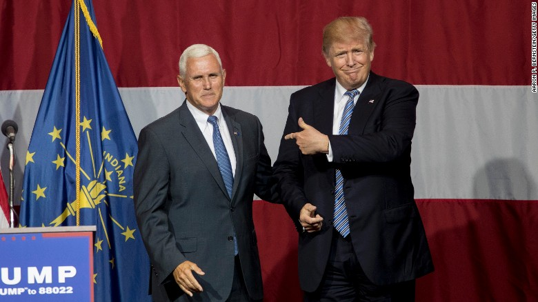 Mike Pence defends Donald Trump's campaign tactics