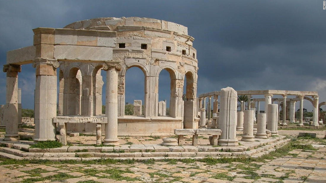Leptis Magna was the birthplace of Roman emperor Septimius Severus, who built upon the city, embellishing it with public monuments, a market place and residential areas.