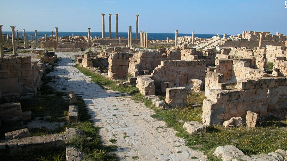 Sabratha, once a Phoenician trading post on the Mediterranean, sits within a conflict zone at present -- the reason for its listing. Other sites have been added preemptively, Al Hassan saying lessons have been learned from the nature of the conflict in Syria, which escalated to swallow up new areas of the country.