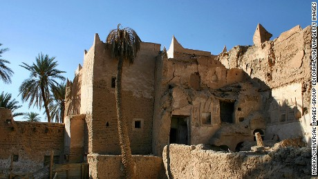 File photograph of the old town of Ghadames, known as the 'pearl of the desert' and one of the oldest pre-Saharan cites.