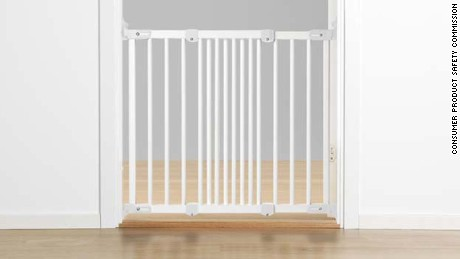 IKEA's PATRULL FAST safety gate is one of three baby gates included in this recall because it can become unlocked and open unintentionally.