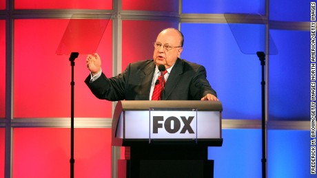 "PASADENA, CA - JULY 24:  Chairman & CEO, FOX News Roger Ailes from ""Fox News"" speaks onstage during the 2006 Summer Television Critics Association Press Tour for the FOX Broadcasting Company at the Ritz-Carlton Huntington Hotel on July 24, 2006 in Pasadena, California.  (Photo by Frederick M. Brown/Getty Images)"