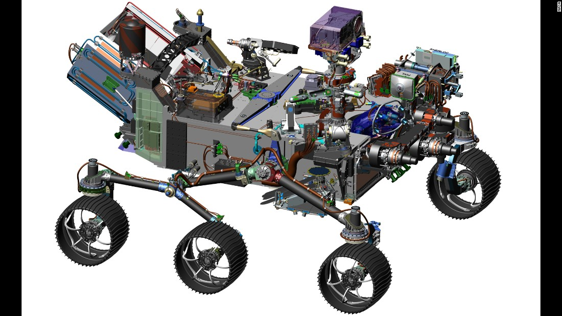 While the rover hasn't been constructed yet, the design is being finalized and all of the payload proposals that will be attached have been approved and incorporated into the design plans.