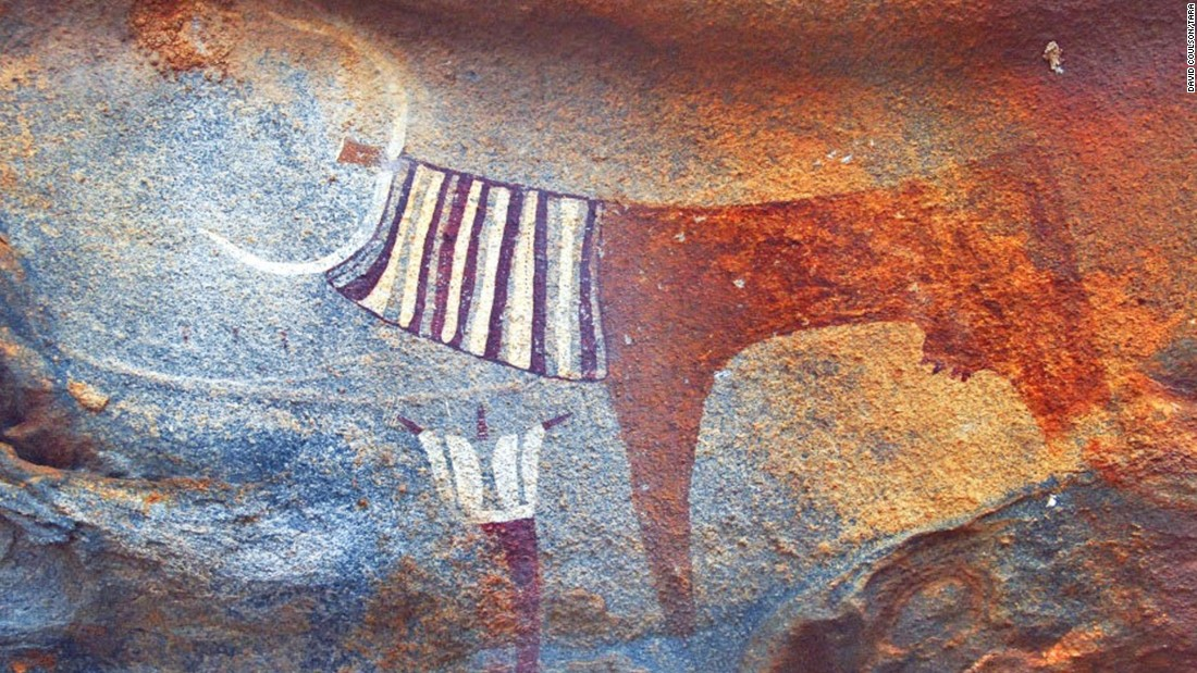 The rock art expert argues that these works give a far greater insight than bones into the lives of ancient peoples that lived across Africa in millennia past.