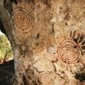 african rock art Kenya - Kwitone circles reup
