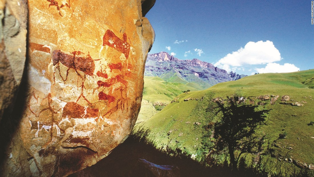 "Rock art expert David Coulson has spent the past 20 years surveying, recording and preserving ancient artworks across Africa. He says ""rock art all over the world is fragile, but certainly it feels even more so in Africa."""