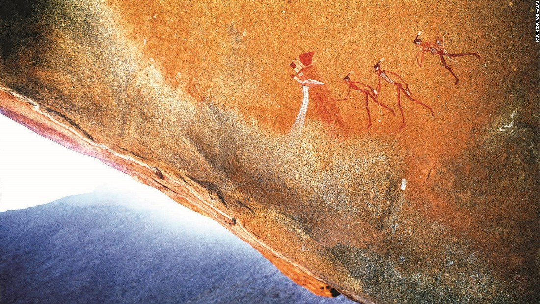 """[Bones] don't tell you about how we lived and loved and dressed and danced,"" argues Coulson. ""Rock art tells you all that, and that is completely priceless."""