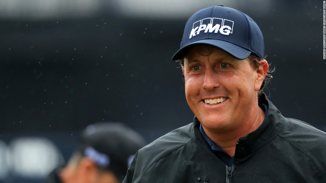 """The 46-year-old says he """"enjoyed the challenge"""" and shot two-under 69 to edge to 10 under par."""