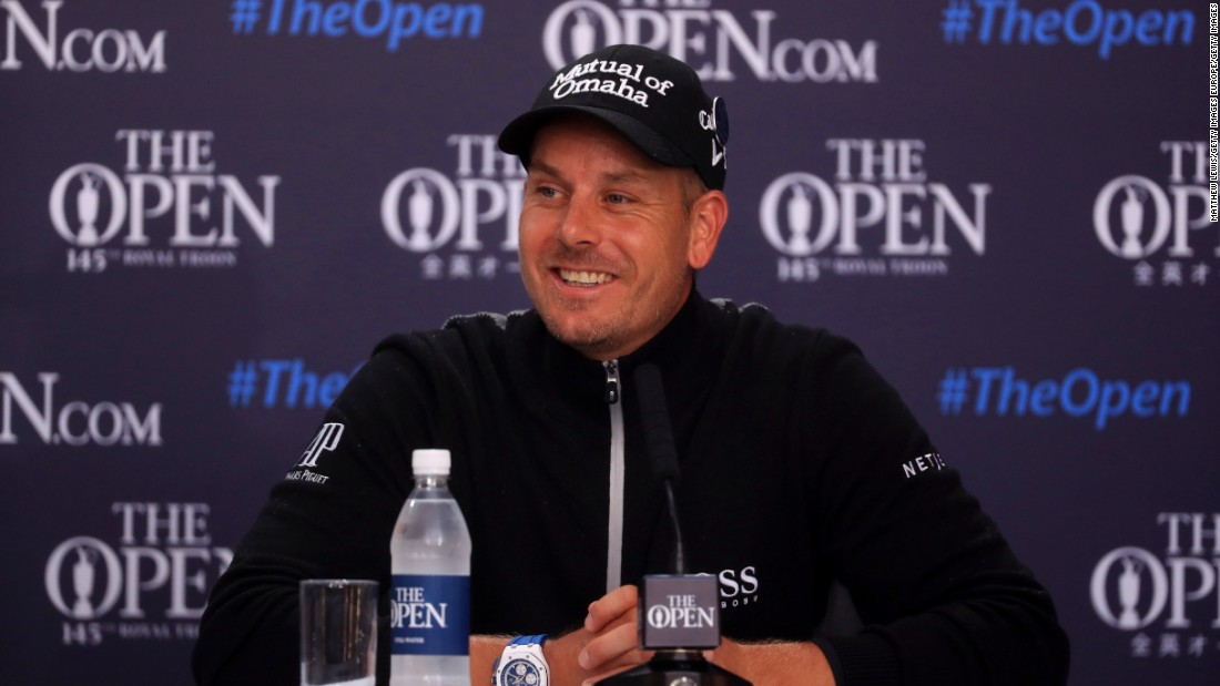 The fun-loving Swede afterwards joked that being six years younger than Mickelson will surely help at the weekend.