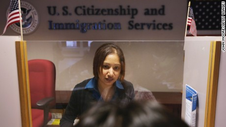 U.S. Citizenship and Immigration Services office.