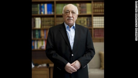 Muslim cleric Fethullah Gulen at his home in Saylorsburg, Pennsylvania.