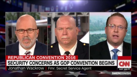 Security Concerns at Cleveland GOP Convention_00063030