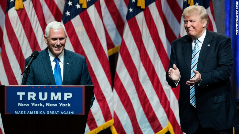 Mike Pence's Whirlwind Two Weeks