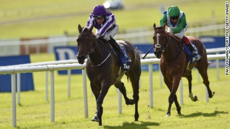 Irish Oaks 2016: Seventh Heaven for trainer Aidan O'Brien