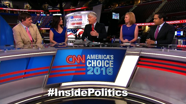 'Inside Politics' forecast: Clinton's counter-convention