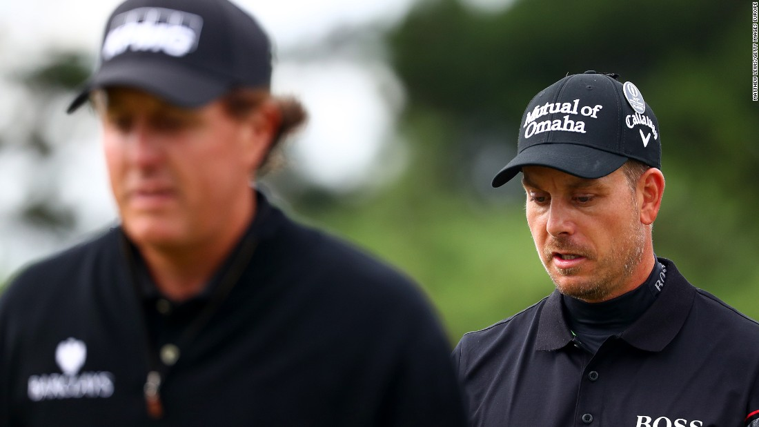 Mickelson and Stenson fought their own lonely duel to battle it out for the 145th British Open.