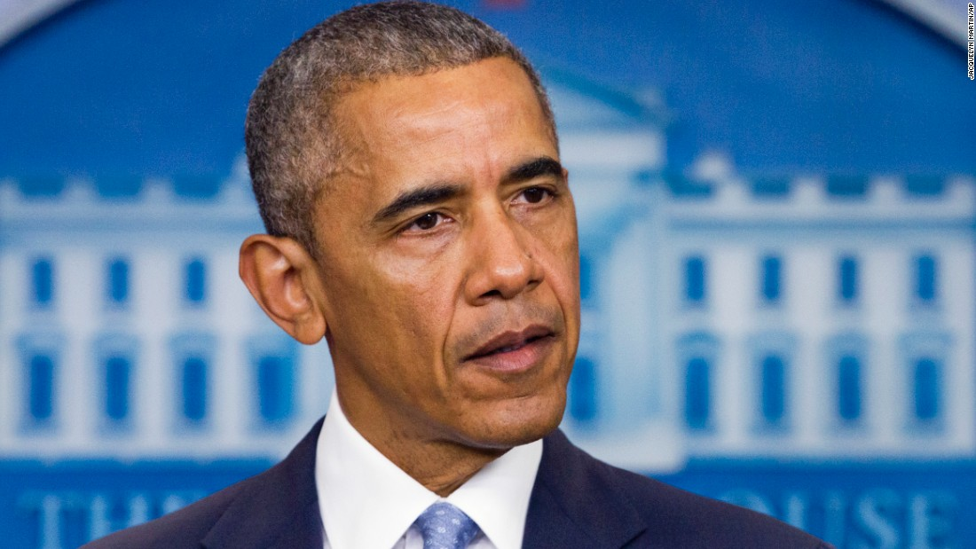 """President Barack Obama  <a href=""""http://www.cnn.com/2016/07/17/us/baton-route-police-shooting/index.html"""" target=""""_blank"""">condemned the slayings of three Louisiana law enforcement officers</a> on Sunday, July 17, as he called on the nation to condemn violence against law enforcement. """"We as a nation have to be loud and clear that nothing justifies violence against law enforcement,"""" Obama said, speaking from the White House press briefing room. """"Attacks on police are an attack on all of us and the rule of law that makes society possible."""""""