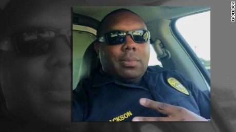 Montrell Jackson, 32, of the Baton Rouge Police Department.