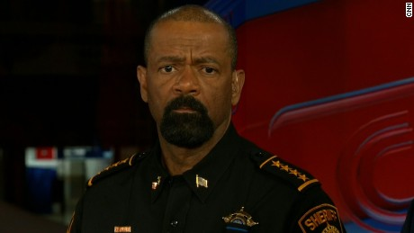 Wisconsin sheriff David Clarke