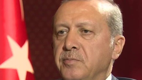 Turkish President speaks with CNN after coup attempt