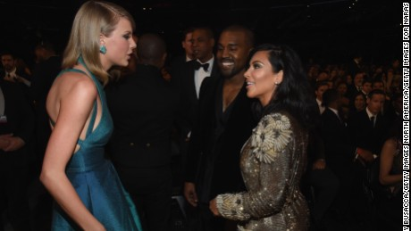 Kim Kardashian's Snapchat fuels feud with Taylor Swift