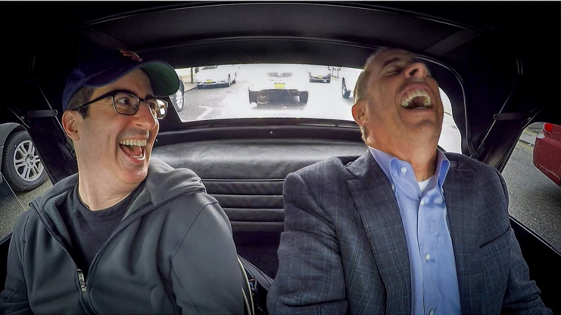 Comedian In Cars Getting Coffee John Oliver