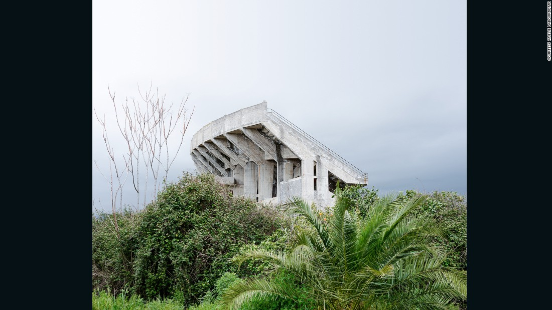 """The list of incomplete constructions littering the Italian landscape is remarkable,"" Labourdette says. ""They seem to be in competition with ancient ruins [like] the Colosseum or the Roman Forum."""