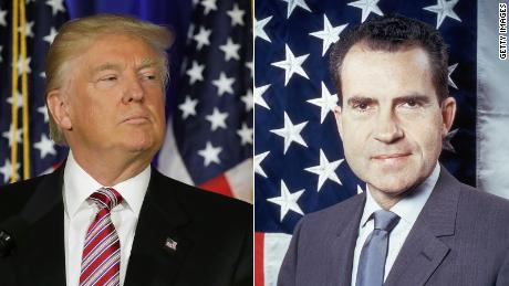 Parallels between Trump and Nixon?