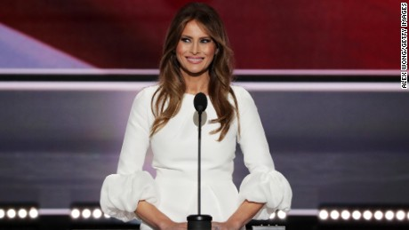Melania Trump's speech plagiarizes parts of Michelle Obama's