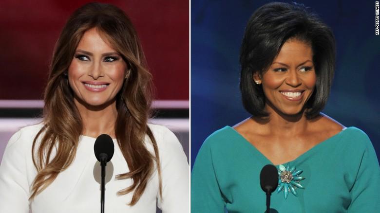 Did Melania Trump plagiarize Michelle Obama's speech?