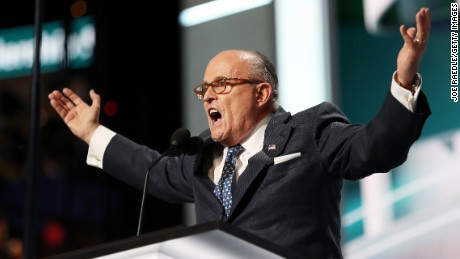 Giuliani challenged over response to Trump tape