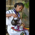 Ethiopia3-Traditional coffee ceremony Gondar c Joe Yogerst