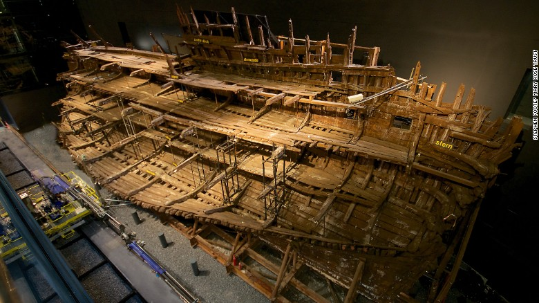 Henry VIII's Mary Rose warship gets makeover