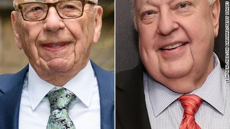 Rupert Murdoch and Roger Ailes