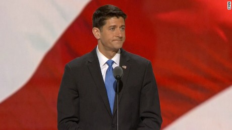 Paul Ryan announces Donald Trump as the Republican nominee