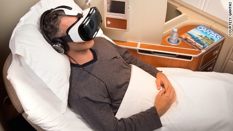 Virtual reality is already a reality after trials by Qantas.