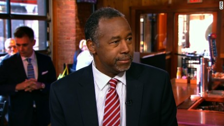 Former surgeon and presidential candidate Ben Carson