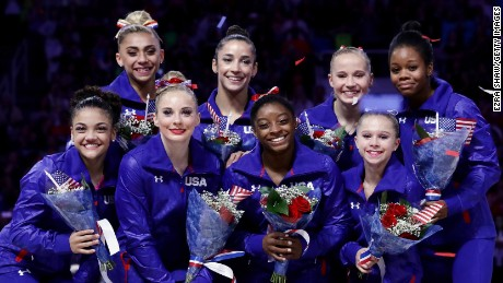 U.S. women's gymnastics team is ready to rule Rio