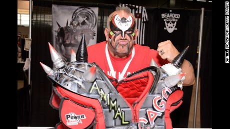 Joe Laurinaitis aka Road Warrior Animal is one of the wrestlers suing