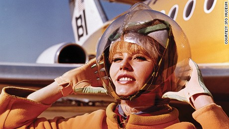No, this space helmet didn't supply her with oxygen.