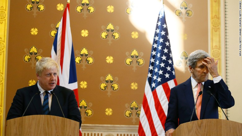 U.S. and UK meet to discuss global issues