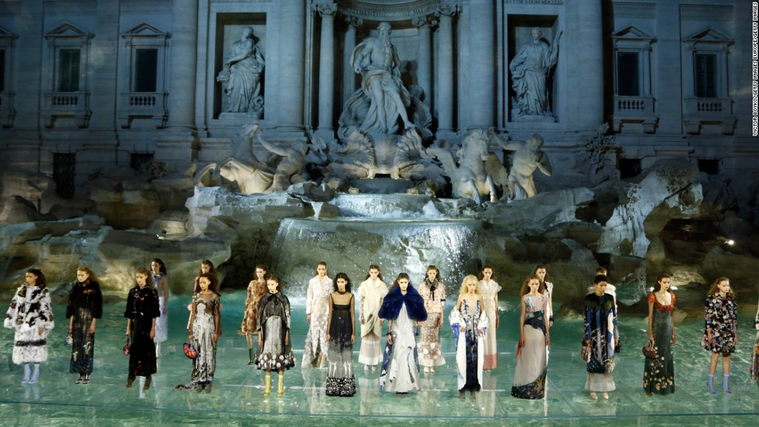 "When Kendall Jenner opened Fendi's Autumn-Winter 2016-2017 haute couture show, gliding across a glass runway as the sun set on one of Rome's most historic landmarks, the audience of VIP editors and guests -- including Kate Hudson and Bella Thorne -- knew instantly that Karl Lagerfeld was <a href=""http://edition.cnn.com/2016/07/20/fashion/fendi-historical-couture-show-trevi-fountain/"">making fashion history</a>."