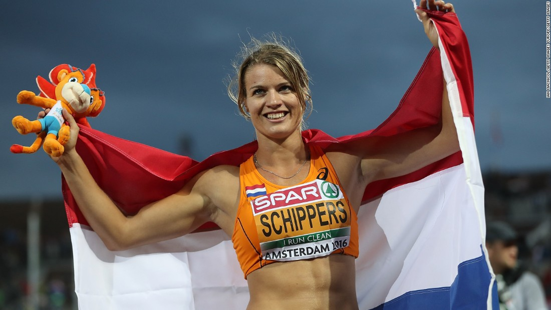 Dutch sprinter Dafne Schippers will be aiming for double gold in Rio with the 100m and 200m on her radar. Schippers, who clocked a world record time to win the 200m at the 2015 world championships, won silver in the shorter distance.