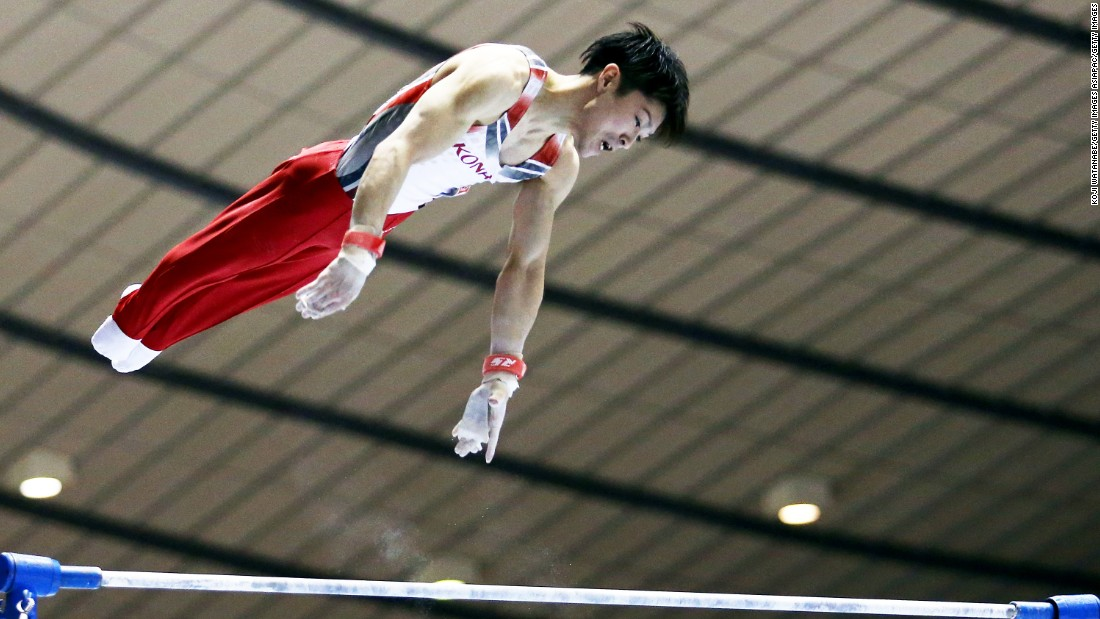 "Japan's<a href=""http://edition.cnn.com/2015/10/21/sport/kohei-uchimura-gymnastics-olympics-japan/""> Kohei Uchimura is aiming to defend his all-around title</a> at Rio after his success in London. With the next Olympics in his home country of Japan, the 27-year-old is hoping to head into Tokyo as a double Olympic champion.<br />"