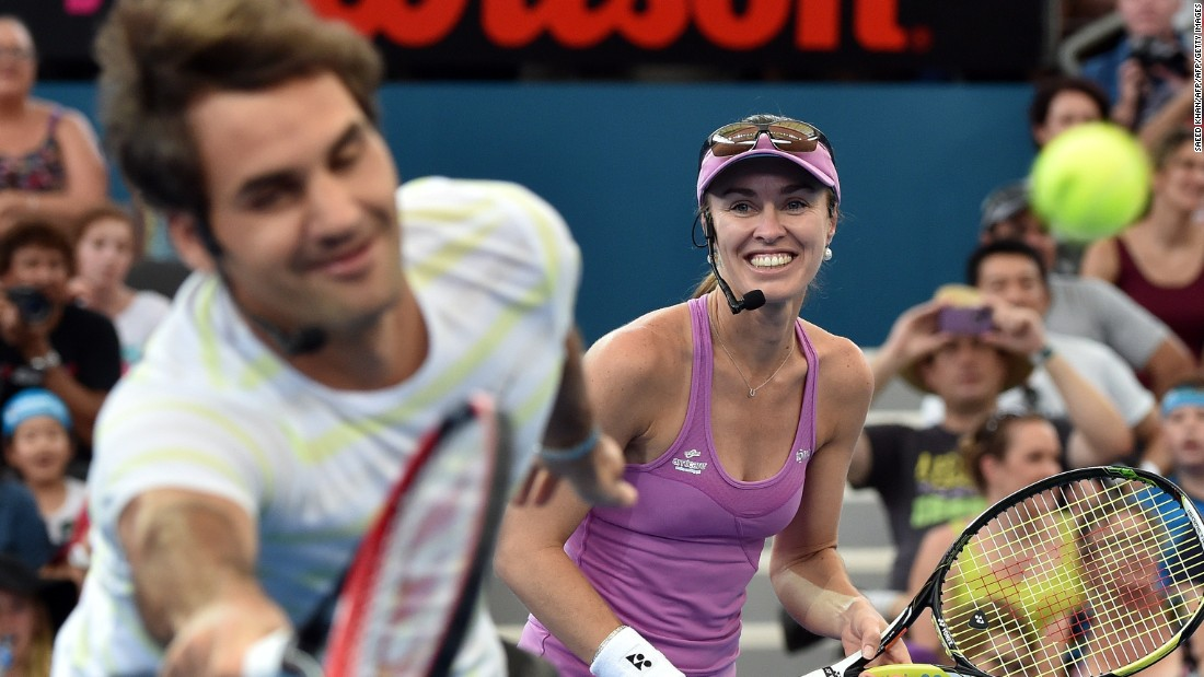 The 17-time grand slam winner was due to play mixed doubles at the Olympics with Martina Hingis ... which got tennis fans excited.